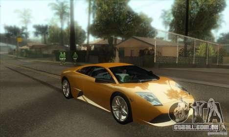 Awesome HD Graphic ENB Setts para GTA San Andreas quinto tela