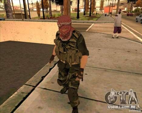 Dušmana de pele de COD4 para GTA San Andreas
