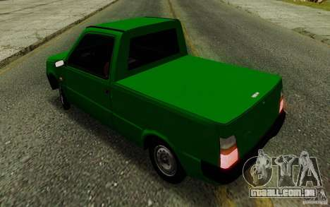 SEAZ Oka Pickup para GTA San Andreas vista interior