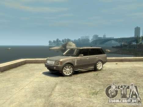Range Rover Supercharged 2008 para GTA 4 esquerda vista