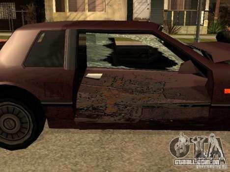 Danos realistas para GTA San Andreas nono tela