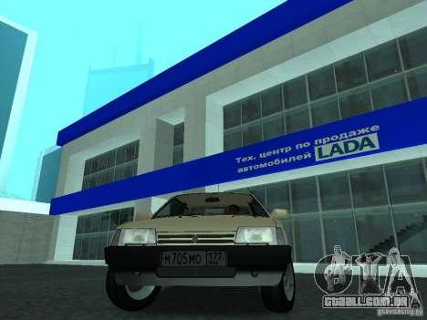 VAZ 2108 CR v. 2 para GTA San Andreas vista direita