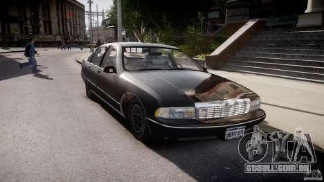 Chevrolet Caprice FBI v.1.0 [ELS] para GTA 4