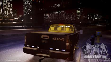 Ford F-350 Unmarked [ELS] para GTA 4 vista lateral