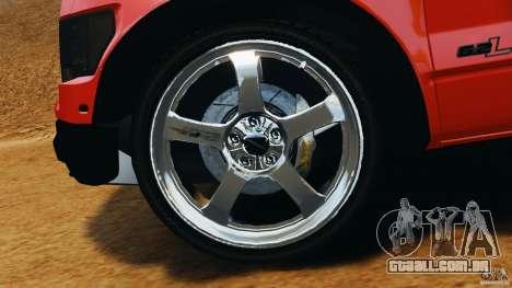 Ford F-150 SVT Raptor para GTA 4 vista superior