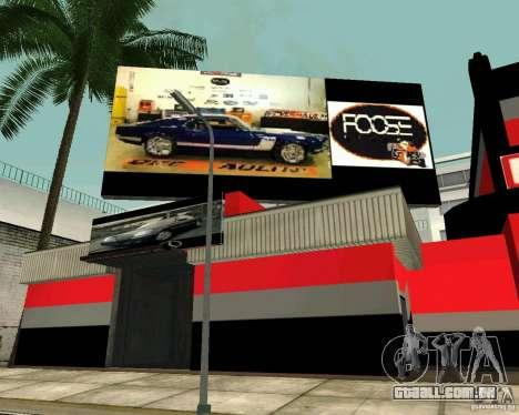 Workshop OVERHAULIN para GTA San Andreas por diante tela