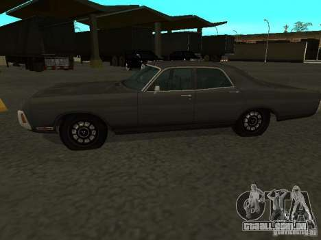 Dodge Polara 1971 para GTA San Andreas vista direita