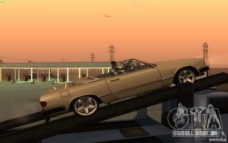 New Feltzer para GTA San Andreas esquerda vista