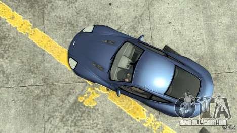 Aston Martin Vanquish S para GTA 4 vista direita