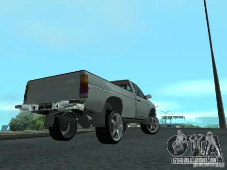 Nissan Pick-up D21 para GTA San Andreas vista interior