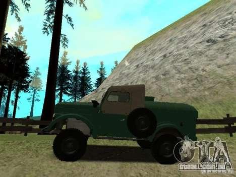 GAZ 69 APA 12 para GTA San Andreas esquerda vista