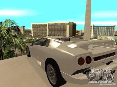 Lamborghini Diablo VT 1995 V2.0 para GTA San Andreas traseira esquerda vista