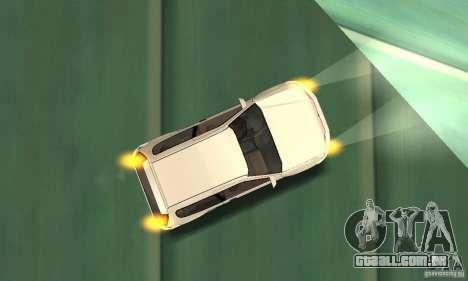 Honda Civic SiR II Tuning para vista lateral GTA San Andreas
