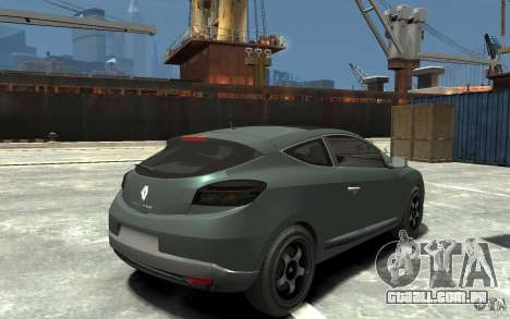 Renault Megane Coupe para GTA 4 vista direita