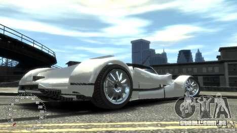 Ibis Formula GT para GTA 4 vista de volta