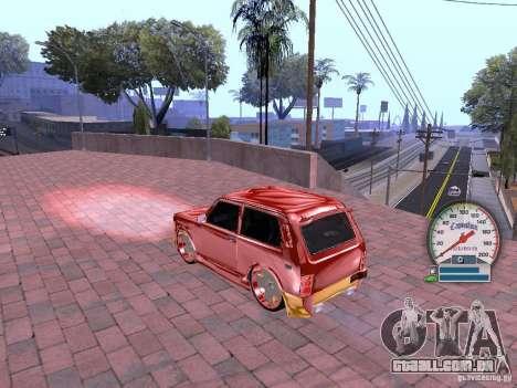 VAZ 21213 para GTA San Andreas esquerda vista