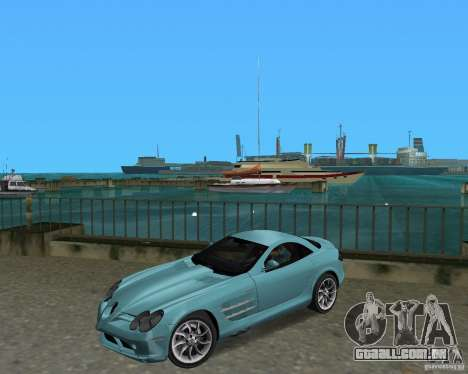 Mercedess Benz SLR Maclaren para GTA Vice City