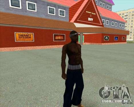 2Pac para GTA San Andreas por diante tela