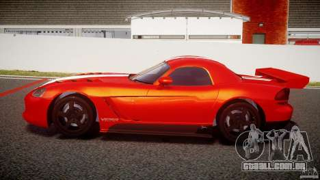 Dodge Viper RT 10 Need for Speed:Shift Tuning para GTA 4 esquerda vista