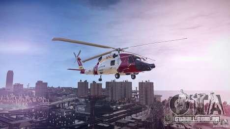HH-60J Jayhawk para GTA 4 esquerda vista