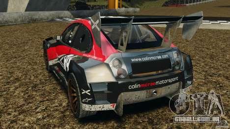 Colin McRae R4 Rallycross para GTA 4 traseira esquerda vista