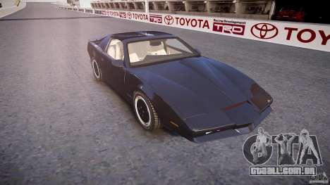 Knight Rider [EPM] para GTA 4 vista interior