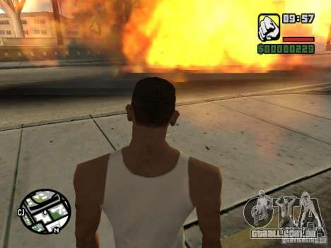 Kyubi-Bomb para GTA San Andreas quinto tela