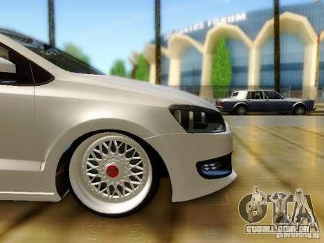 Volkswagen Polo 6R TSI Edit para GTA San Andreas vista direita