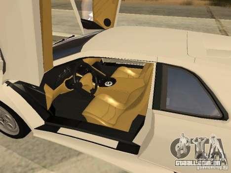 Lamborghini Diablo VT 1995 V2.0 para GTA San Andreas vista superior