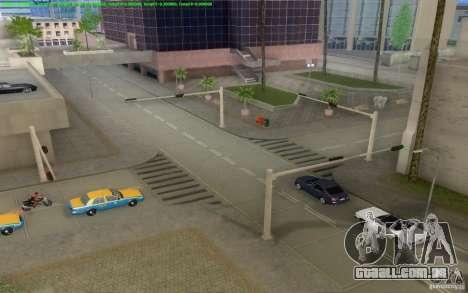 Estradas concretas de Los Santos Beta para GTA San Andreas oitavo tela