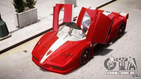 Ferrari FXX para GTA 4 rodas