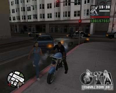 Piscas 2.1 para GTA San Andreas terceira tela