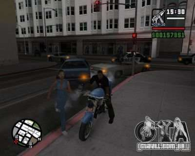 Turn Indicators 2.0 para GTA San Andreas