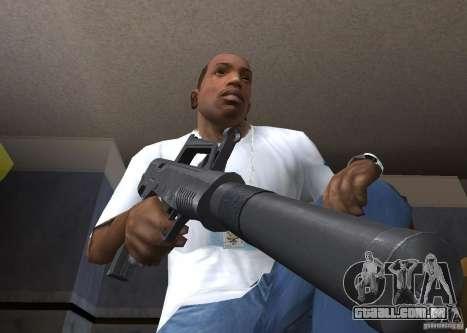 QCW-05 para GTA San Andreas segunda tela