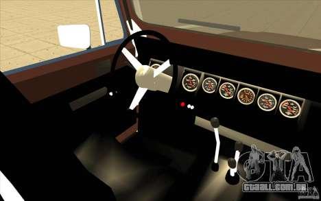 Jeep Wrangler 1986(2) para GTA San Andreas vista traseira