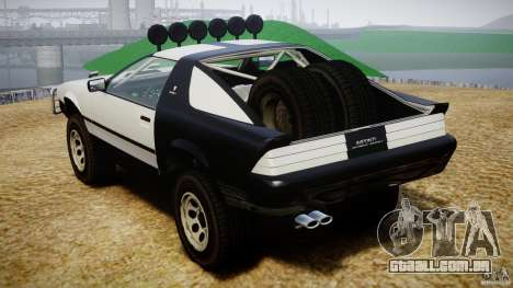 Ruiner Trophy Truck para GTA 4 vista interior