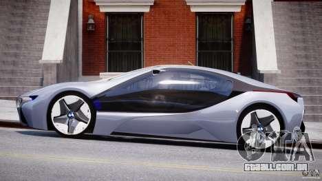BMW Vision Efficient Dynamics v1.1 para GTA 4 esquerda vista