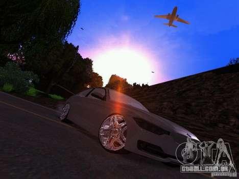 BMW 335i F30 Coupe para GTA San Andreas vista direita