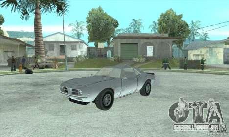 Speedevil de FlatOut para GTA San Andreas esquerda vista