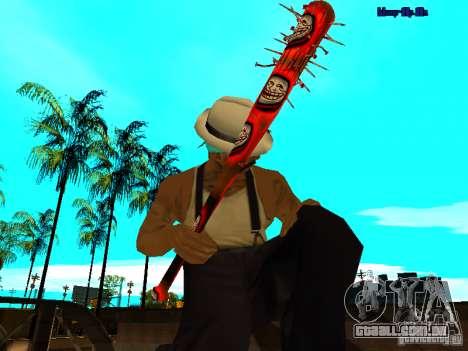 Trollface weapons pack para GTA San Andreas quinto tela