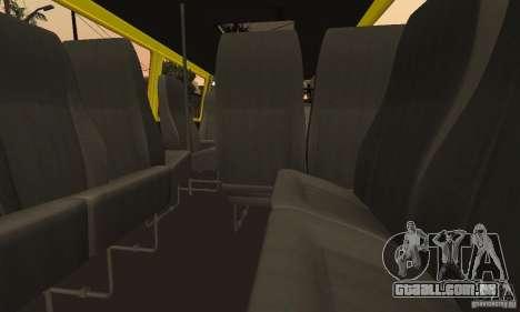 Carrinhas de Novosibirsk gazela 32213 para vista lateral GTA San Andreas