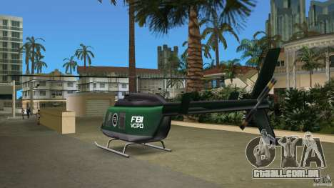 FBI Maverick para GTA Vice City vista lateral