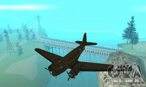 C-47 Skytrain para GTA San Andreas