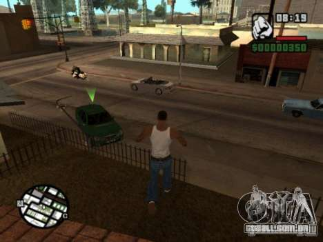 Call of Homies para GTA San Andreas segunda tela