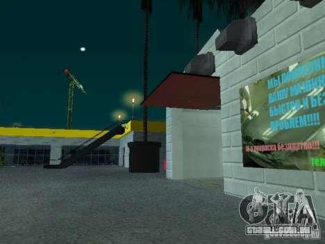 Novo showroom em San Fierro para GTA San Andreas sétima tela