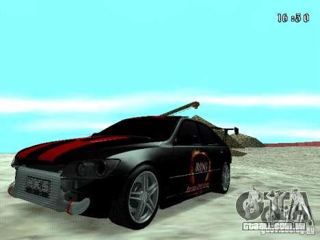 Toyota Altezza NKS Drift para GTA San Andreas
