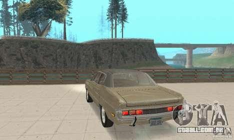 AMC Matador 1971 para GTA San Andreas esquerda vista
