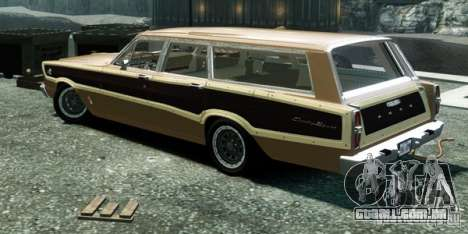 Ford Country Squire para GTA 4 esquerda vista