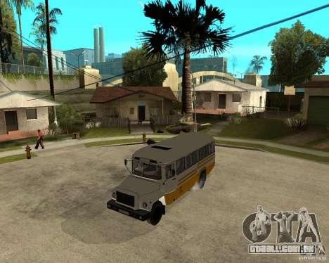 Pequeno KAVZ-39765 para GTA San Andreas esquerda vista