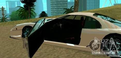 New Turismo para GTA San Andreas vista direita